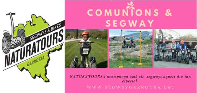 Segway Garrotxa Naturatours your communion