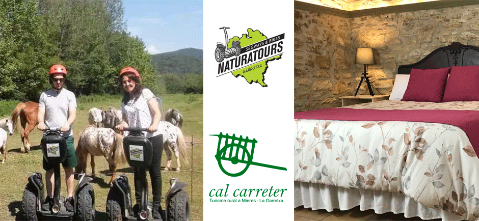 Cal Carreter offer Segway Rural Tourism